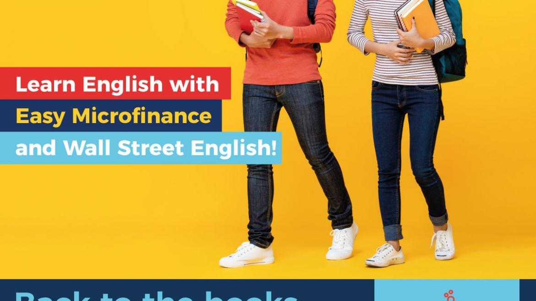 Easy Microfinance  နှင့် Wall Street English တို့ ပူးပေါင်းပြီး ပညာရေးချေးငွေဝန်ဆောင်မှုပေးခြင်း